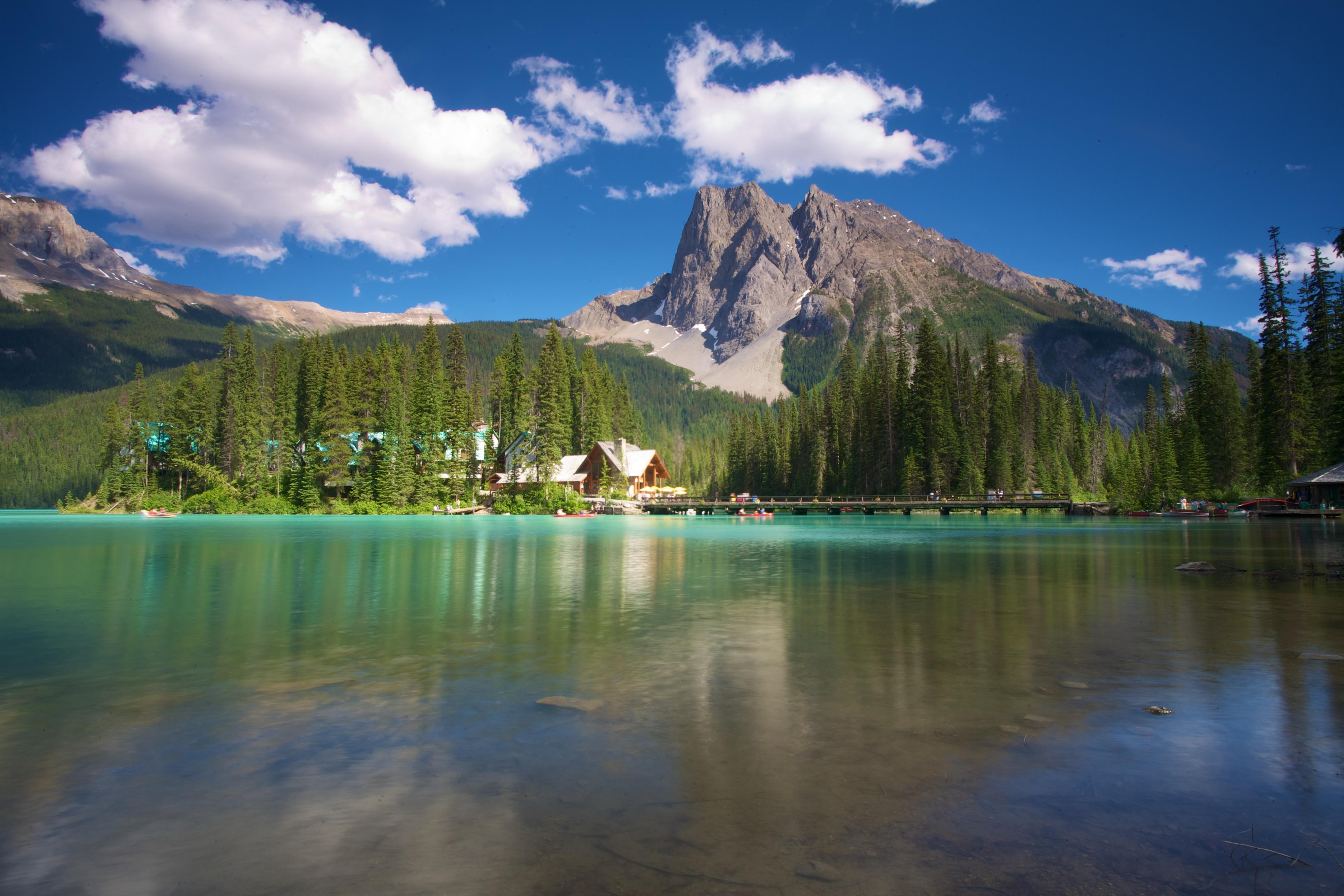 une liste de voyages à faire sans emerald lake est impossible