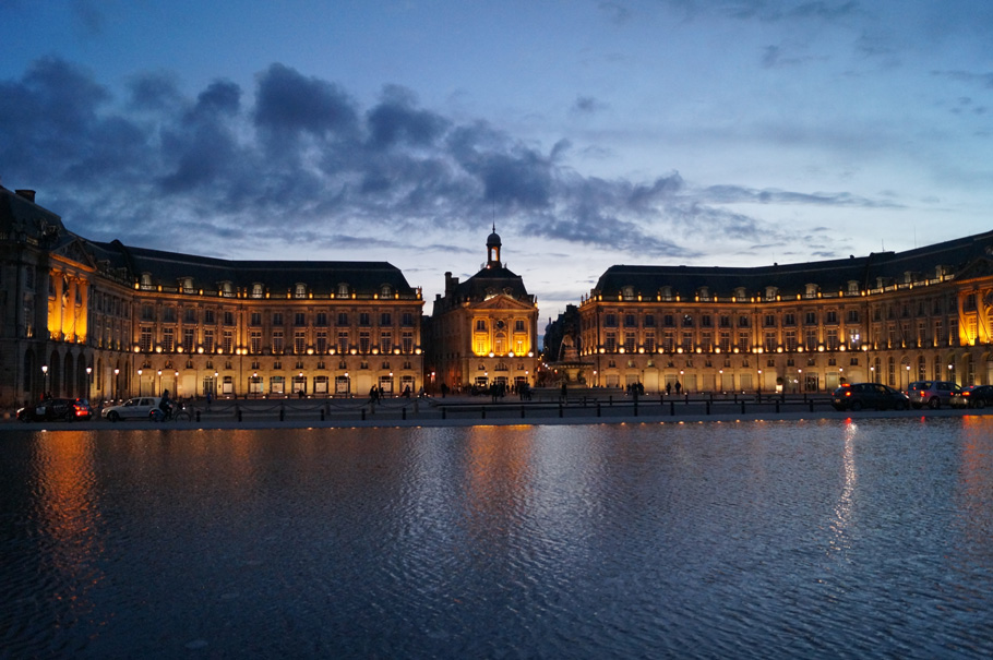 Bordeaux city guide place de la bourse unesco
