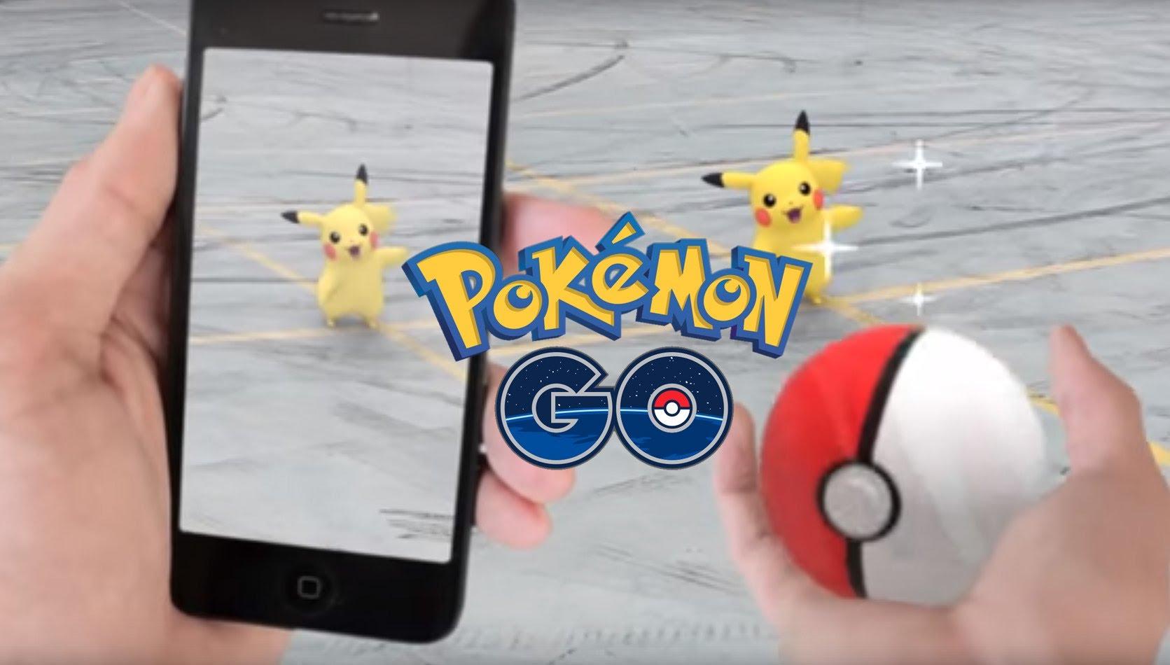 Pokemon go réalité augmentée application iOS android