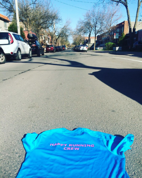 maillot happy running crew blessure canada