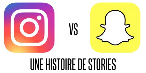 Instagram stories avis contre snapchat