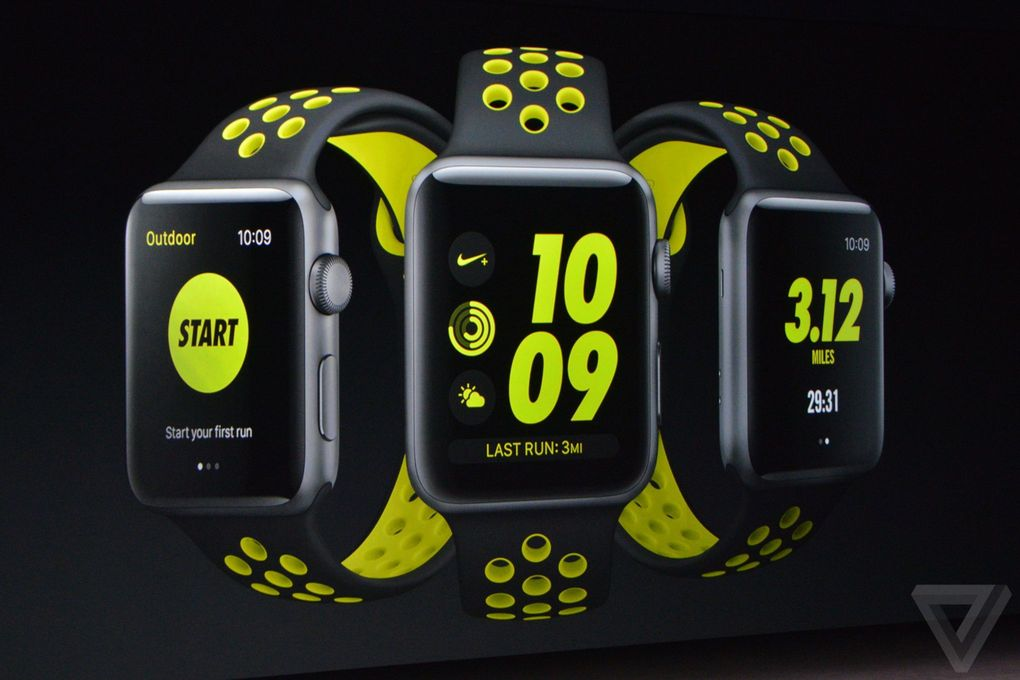 Montre apple watch  series 2 nike plus