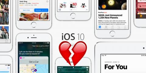 iOS 10 premier iOS que je n'aime pas