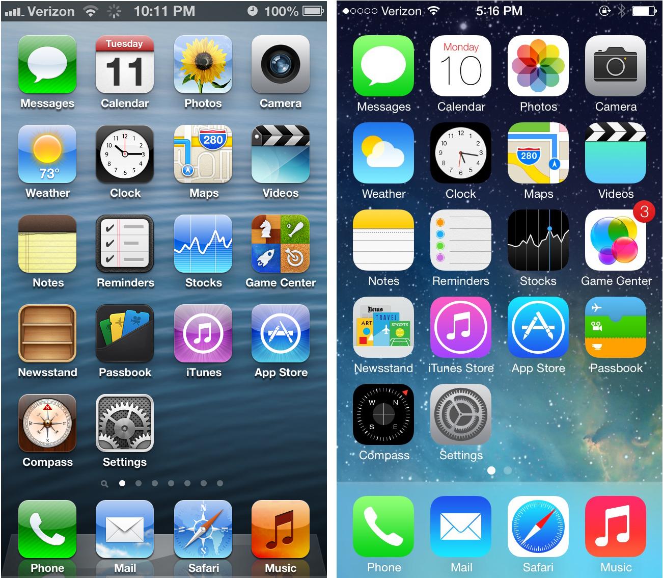 iOS changements jony ive iOS 10