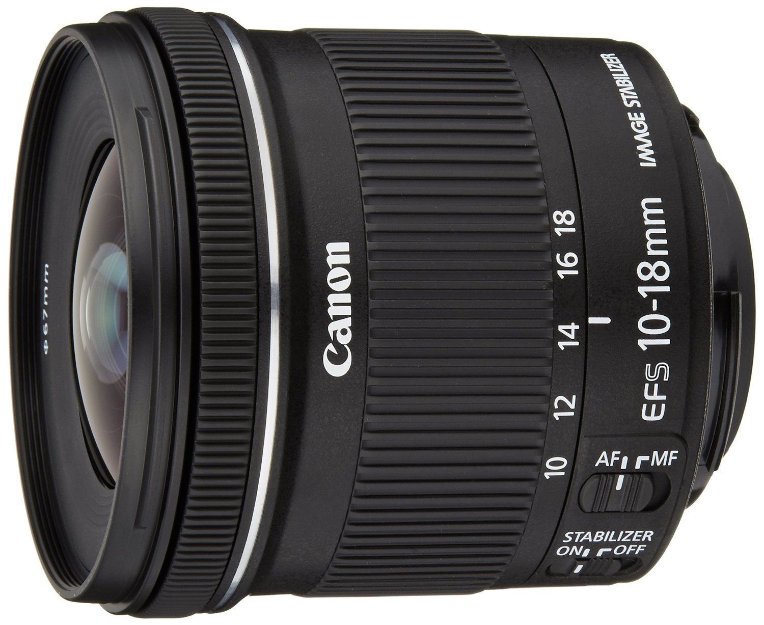 objectif grand angle 10-18 Canon