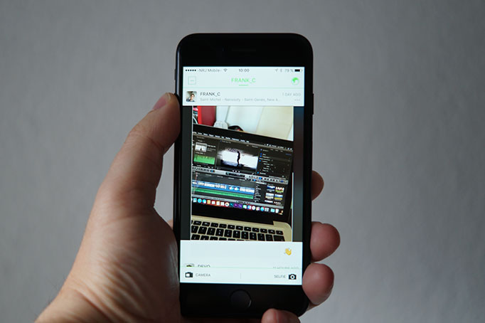fil de videos beme reseau social