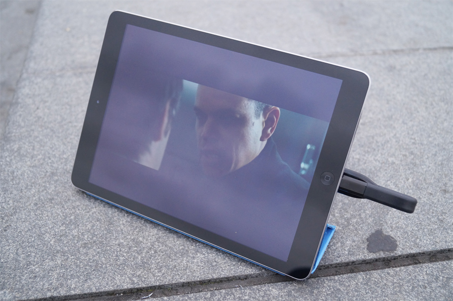 film sur iPad depuis clé usb pour iPhone ipad icobra 2