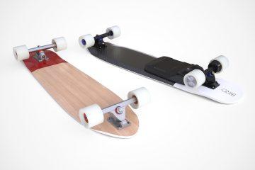 skate électrique français bird projet kickstarter