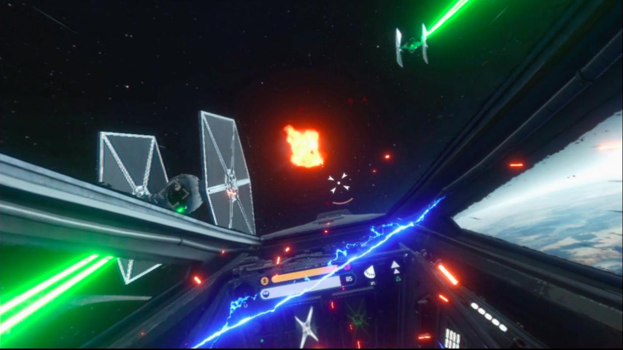 battlefront mission vr ps vr playstation vr x-wing mission