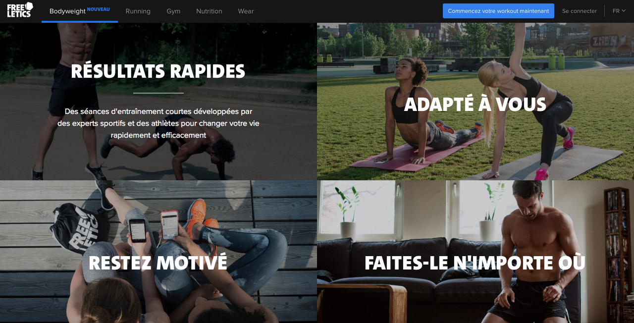 avis freeletics version gratuite