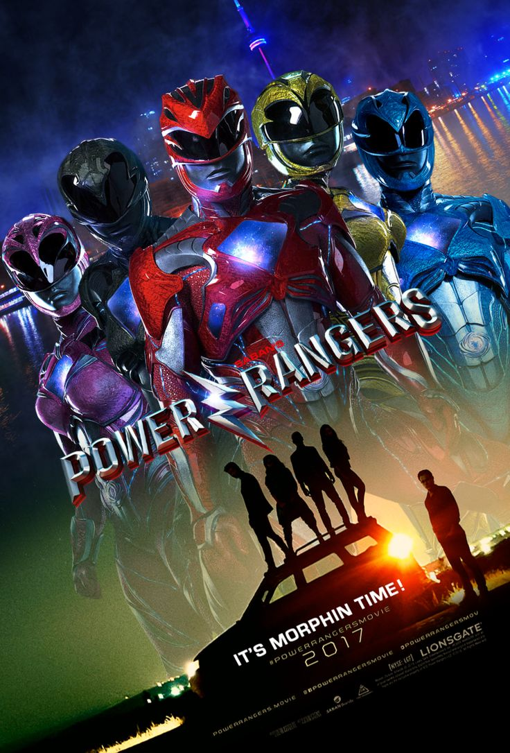 poster avis power rangers 2017