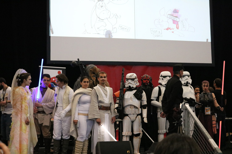 visite du bordeaux geek festival 2017 celebration 40 ans Star Wars