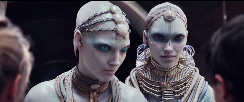 aliens du film valerian très varies et vaste la cite des mille planete