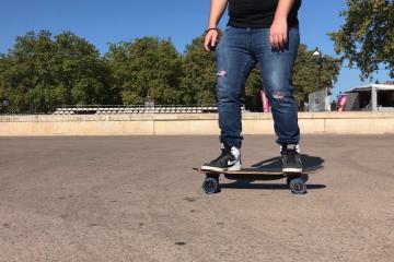 test nimbus elwing skate électrique français bordeaux