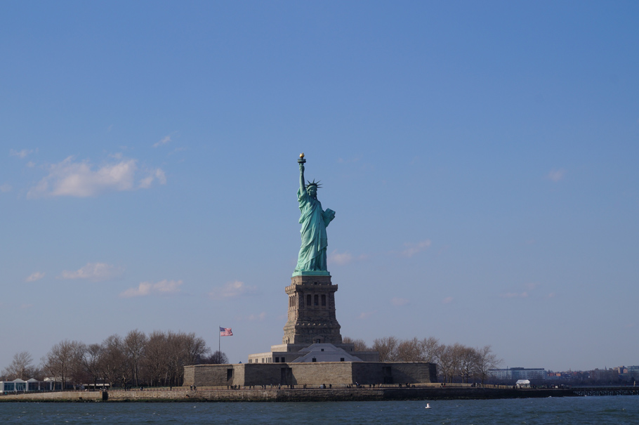statut de la liberté new york liberty island