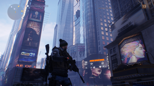 times square retranscrit dans the division