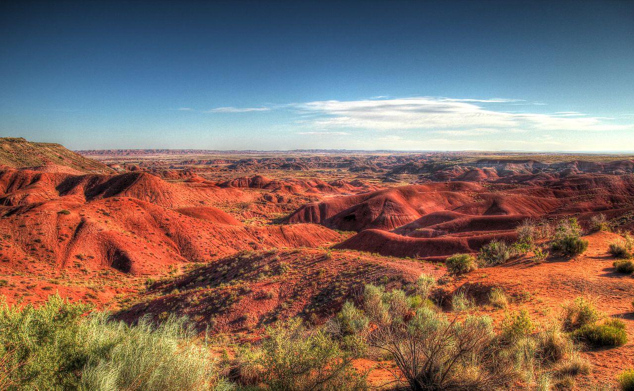 un des voyages à faire est l'Arizona