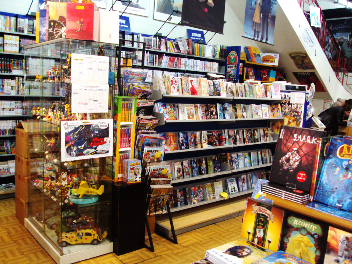 boutique geek bd comics bordeaux