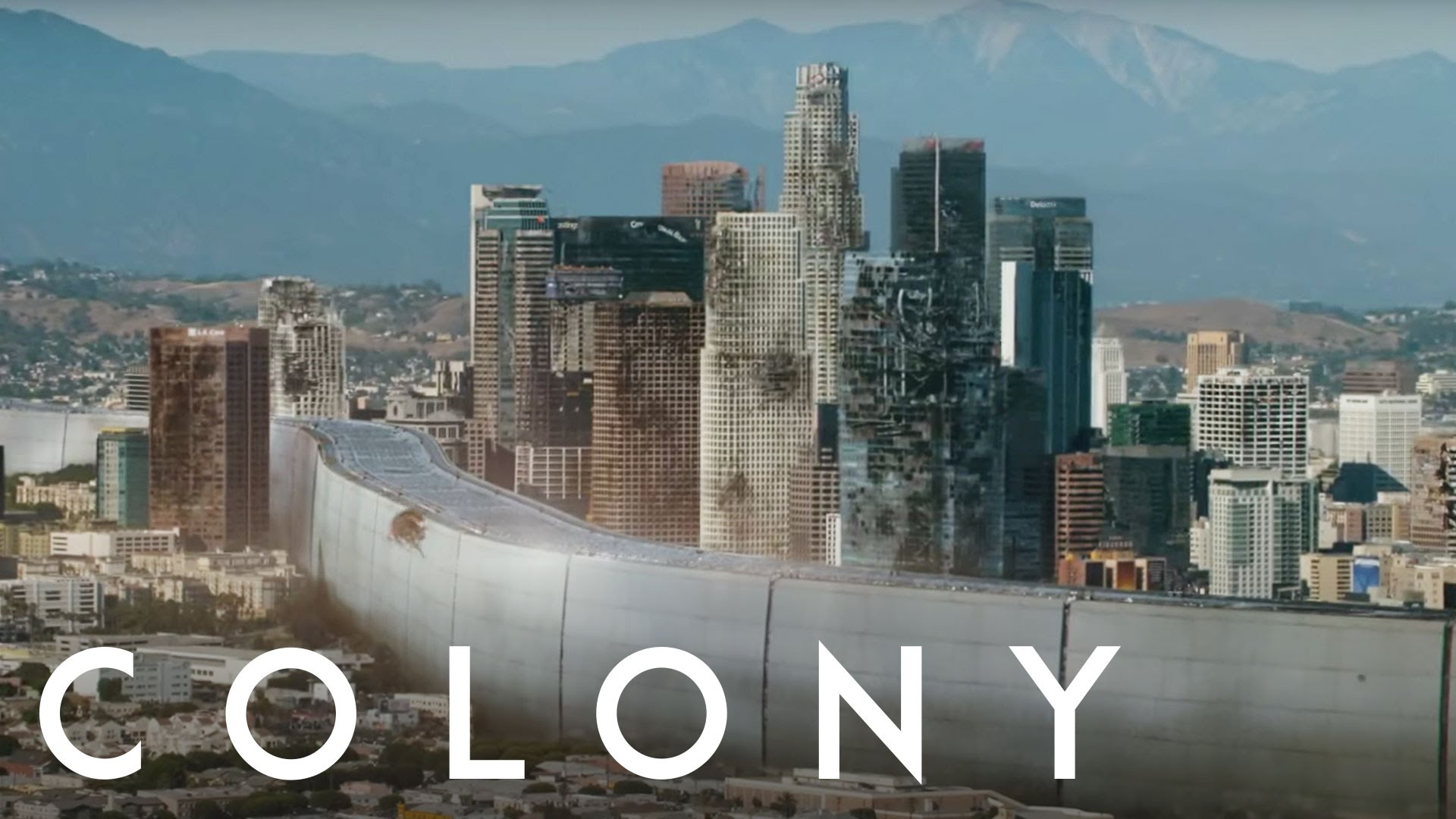 série colony science fiction