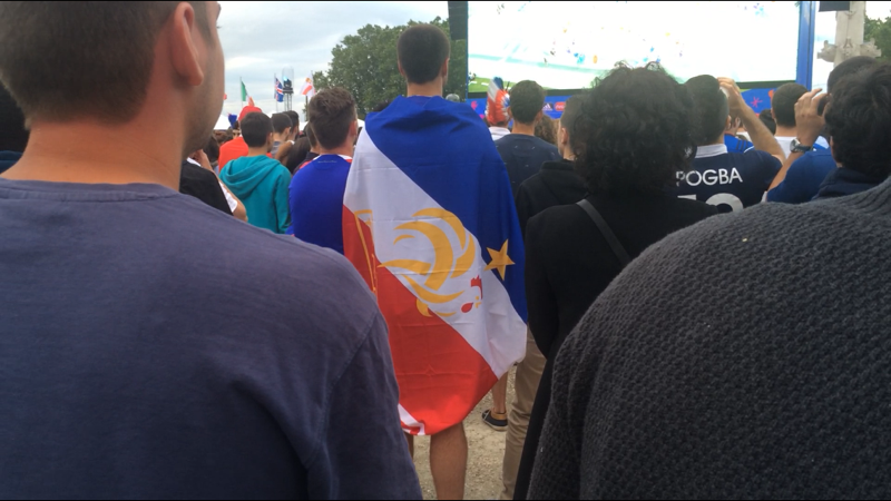 Fan zone Bordeaux euro 2016