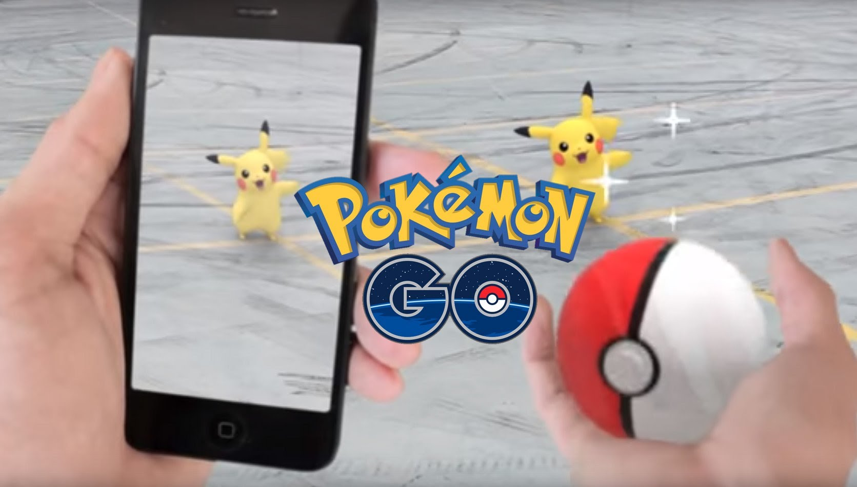 Pokemon go réalité augmentée application iOS android