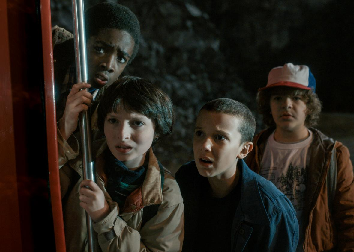 Stranger things coup de coeur series netflix sf