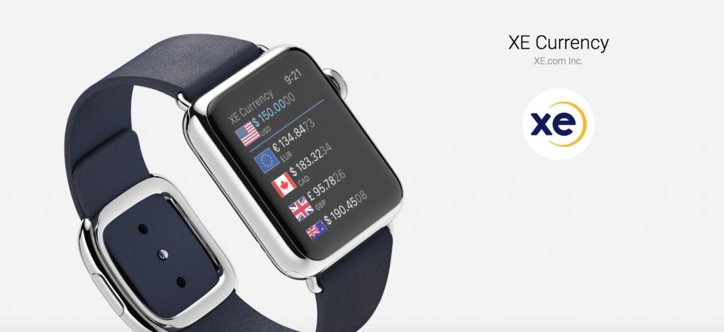 meilleures apps gratuites apple watch xe currency convertisseur