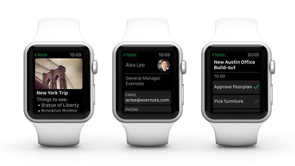 evernote meilleures apps gratuites pour apple watch 2019 geeketc