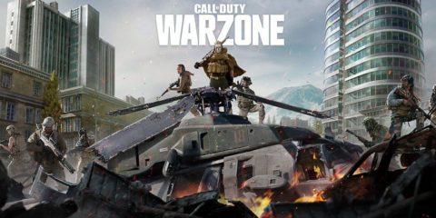test battle royale call of duty warzone français