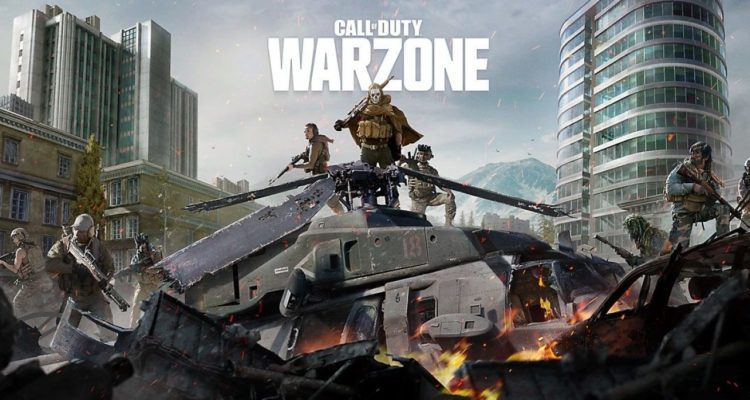 test battle royale call of duty warzone français