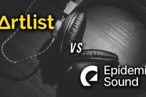 musique libre de droit video artlist epidemic sound