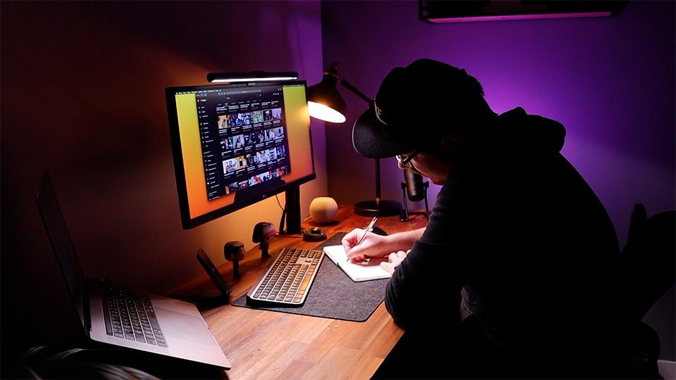 test lampe benq screenbar plus